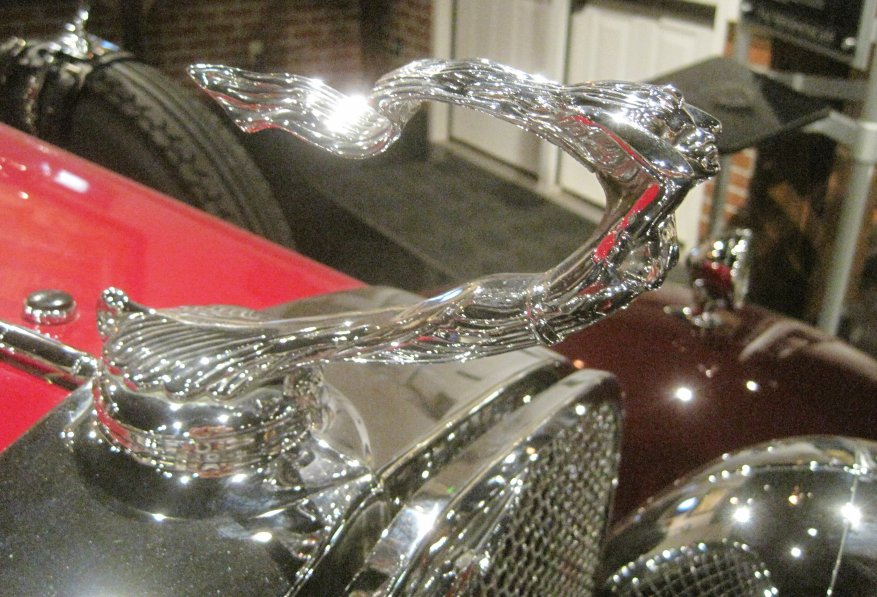 1929 LaSalle Hood Ornament