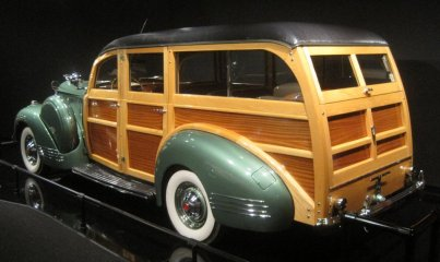 1941 Packard 120 Woody Wagon