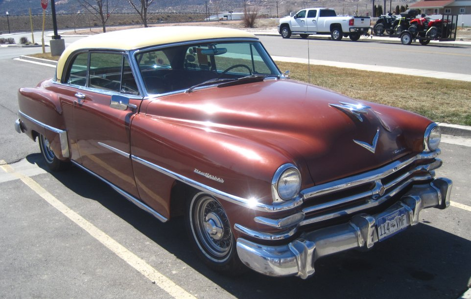 1953 Chrysler New Yorker Deluxe Newport