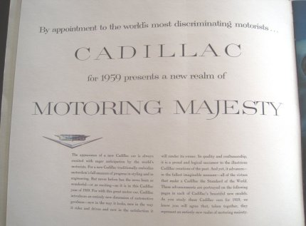 Cadillac Motoring Majesty