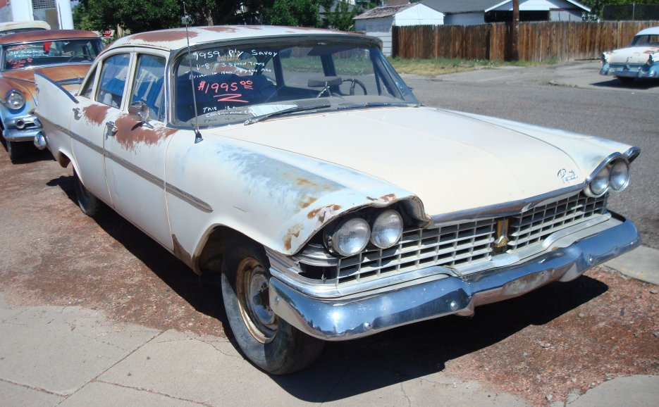 1959 Plymouth Savoy For Sale - Delta, Colorado