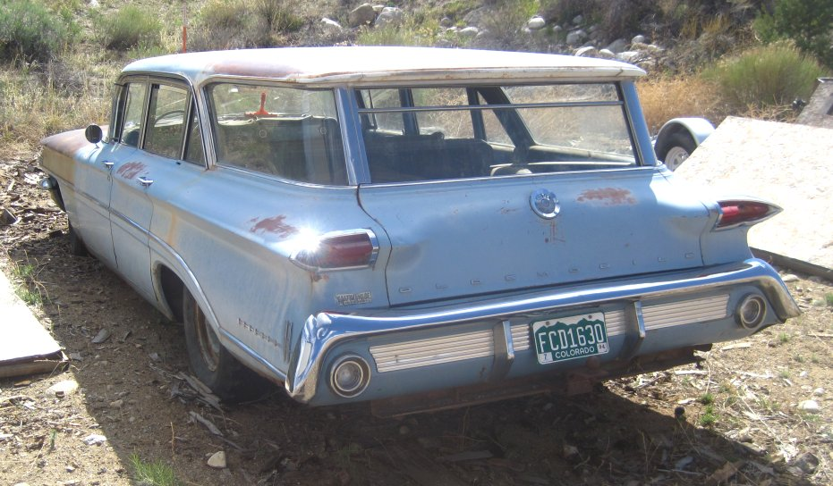 1960 Oldsmobile 88 Dynamic Station Wagon For Sale - Photos