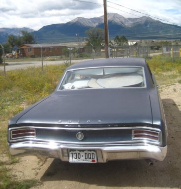 1964 Buick Special Rear