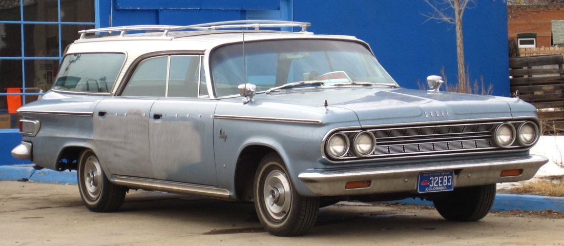 1964 Dodge 880 Station Wagon For Sale - Photos
