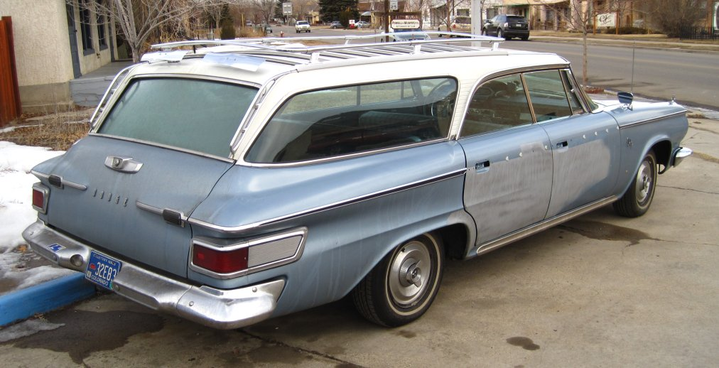 Love Station Wagons So Much And This 64 Dodge Model Is An Attractive