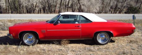 1972 Oldsmobile Delta Royale Convertible