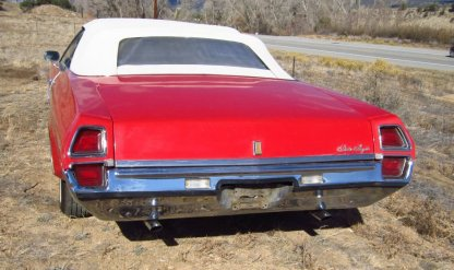 1972 Oldsmobile Delta Royale Rear