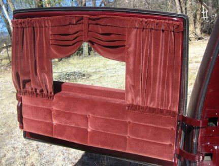 Hearse Curtains