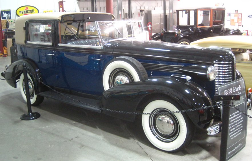 1938 Buick Brewster Town Car