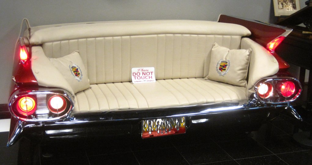 1961 Cadillac Custom Couch